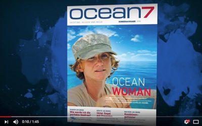 oceanwoman Sonderausgabe auf der Boot Tulln