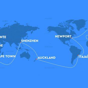 In zehn Städten um die Welt