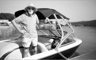 Wasserski-Pionier Robert Mureny verstorben